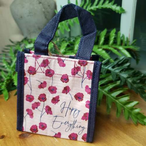Tiny Reusable Gift Bag-Happy Everything