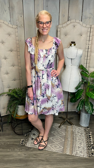 Lilac Blossoms Fit and Flare