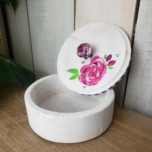 Hand Painted Box-Ashley