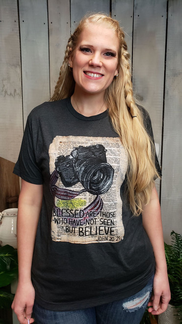 HIS Word T-Shirt But Believe