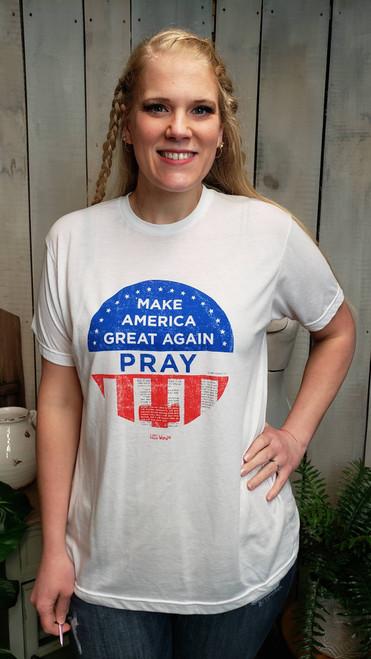 HIS Word T-shirt Make America Great