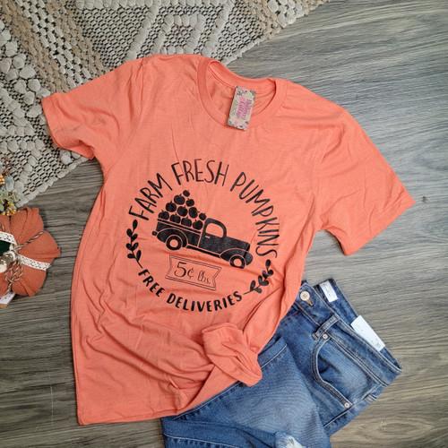 Farm Fresh Pumpkins-Heather Orange