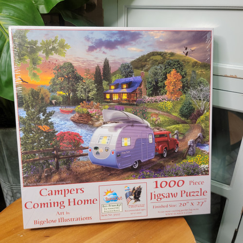 Campers Coming Home 1000pc