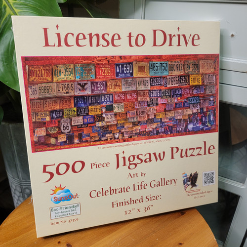License to Drive 500pc