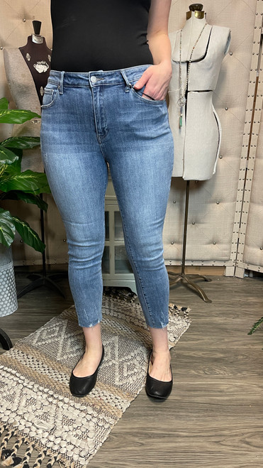 Mid Rise Lilly Skinny