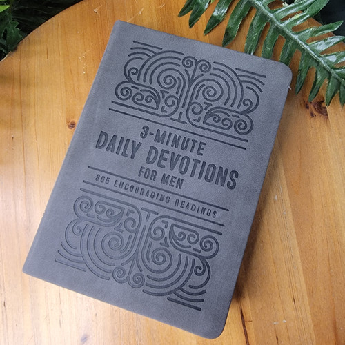 3 Minute Daily Devotions for Men