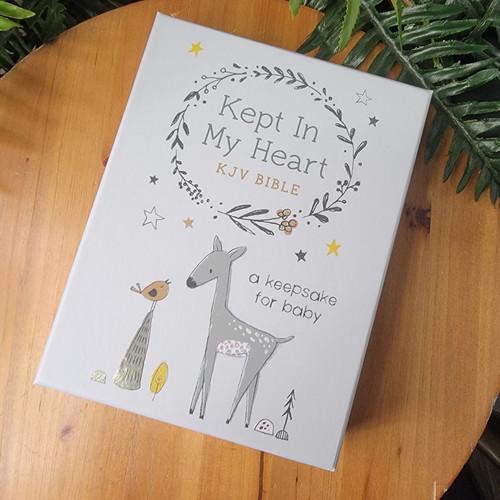 Kept IN My Heart KJV-Baby Keepsake