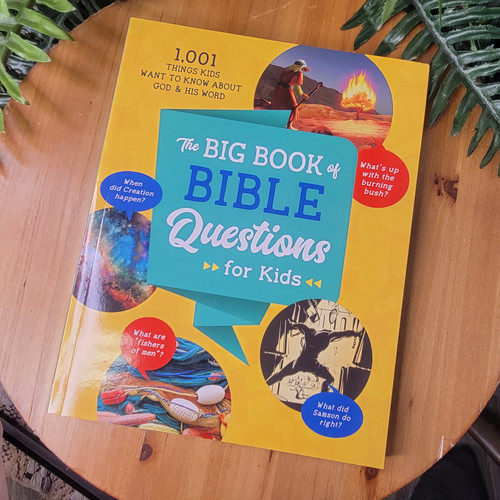 The Big Book of Bible Questions For Kids