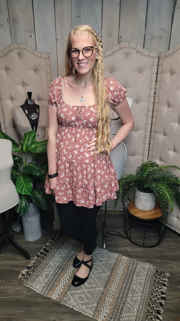Floaty Floral-Sienna