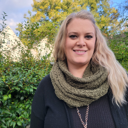 Soft and Cozy Infinity Scarf-Olive