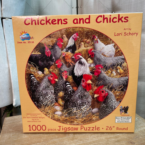 Chickens and Chicks 1000 Piece Puzzle