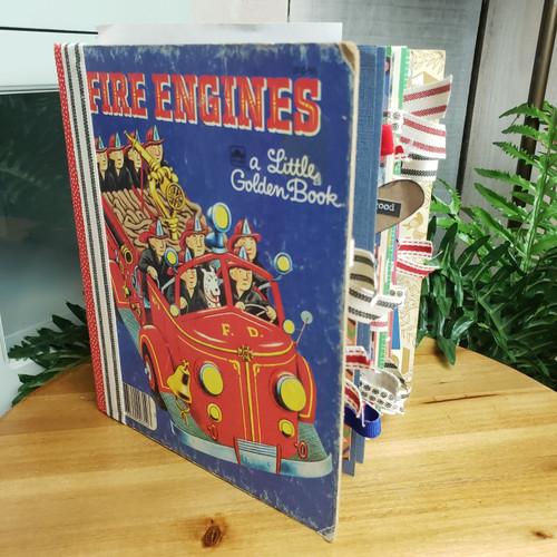 Fire Engines Little Golden Book Memory Book
