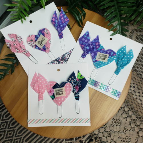 Quilted Journaling Clips - Makers Collection