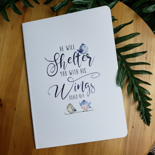 He Will Shelter You Journal