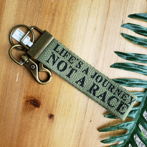 Life is a Journey Key Chain