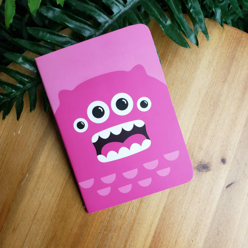 Pink Monster Mini Notebook