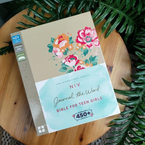 NIV Journal the Word Bible for Teen Girls