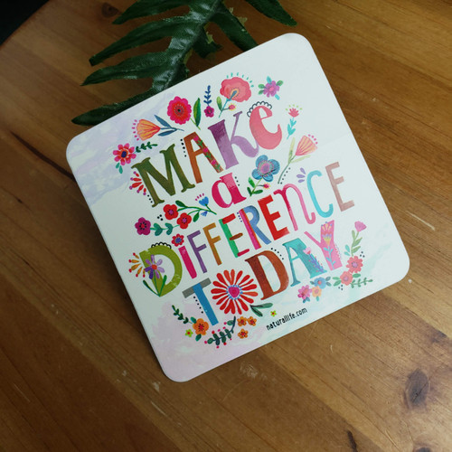 Vinyl Stickers-Make a Difference
