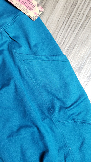 Buttery Soft Yoga Pocket Legging - Teal