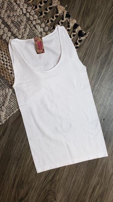 Basic Tank-White