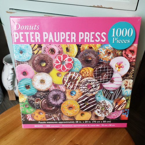 1000 Piece Puzzle-Donuts