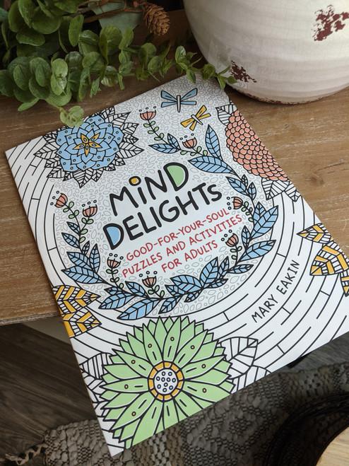 Mind Delights Adult Activity Book