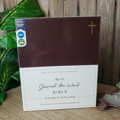 NIV Journal The Word Bible-Brown Leather