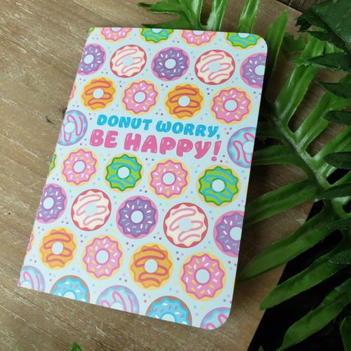 Donut Worry, Mini Notebook