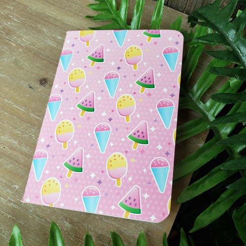 Pink Ice Pops Mini Notebook