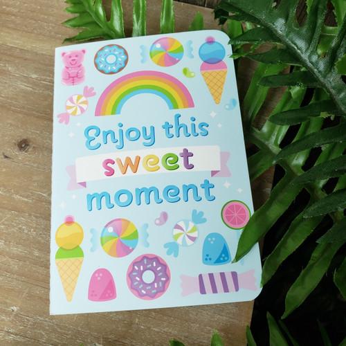 Enjoy this sweet Mini Notebook