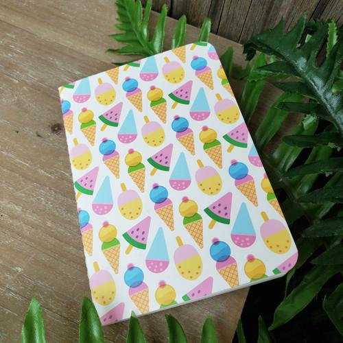 Ice Cream Pops Mini Notebook