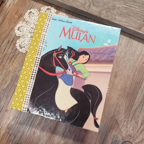 Mulan Little Golden Book Memory Book