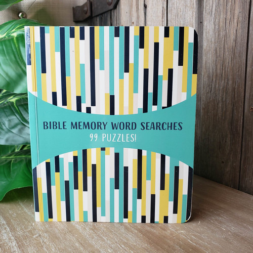 Bible Memory Word Searches 99 Puzzles