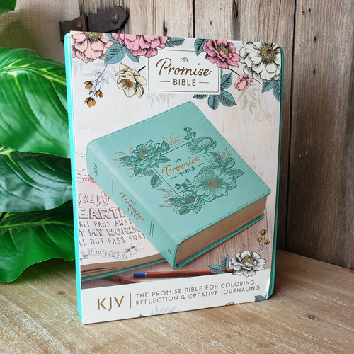 KJV My Promise Bible-teal