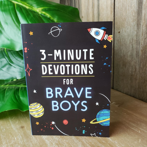 3-Minute Devotions for Brave Boys