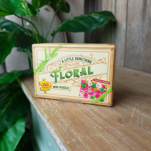 A Little Something Floral Mini Puzzle