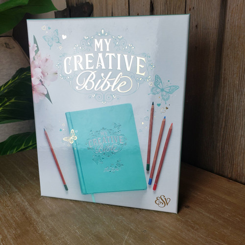 My Creative Bible for Girls ESV-Teal