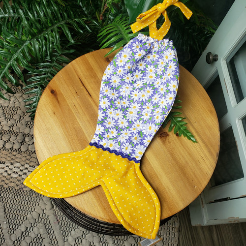 Sugar Snap Mermaid Tail-Daisy Felds Mustard