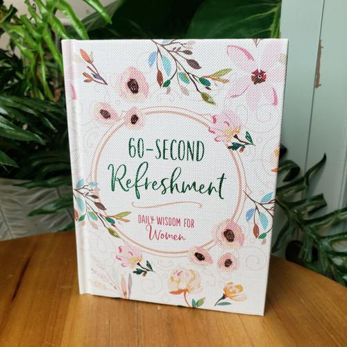 60-Second Refreshment Daily Wisdom for Women