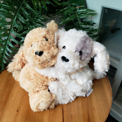 Small Hugging Puppy Warmies