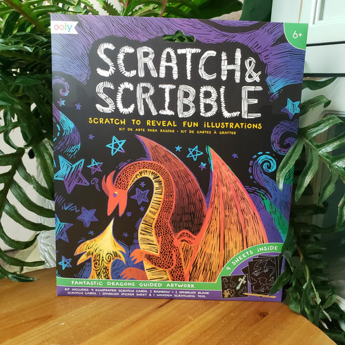 Scratch & Scribble-Fantastic Dragons