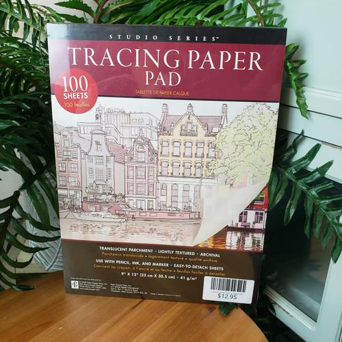 Studio Series Tracing Paper Pad