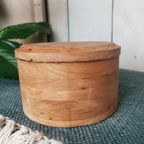 Mini Round Trinket Box-Hayden