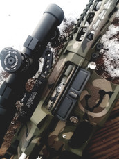 PAMAX XSlick WOODLAND Camo Bolt Carrier Group