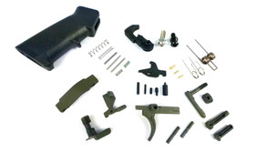 AR15 OD/Green Lower Parts Kit LPK