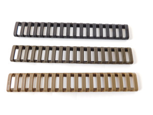 (10pk) PAMAX Tactical 18-Slot Ladder Rail Cover Black
