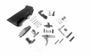 AR15 Tungsten/Silver Lower Parts Kit LPK