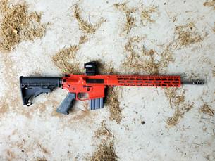 "PMT-15 RED XSlick .223/5.56 16"" DMR Rifle"