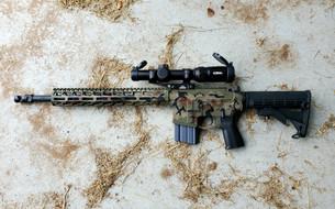 """PMT-15 Woodland XSlick .223/5.56 16"""" DMR Rifle"""