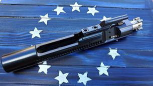 XSlick+ C-158 Premium AR15/M16 Bolt Carrier Group BCG - Stealth Blue